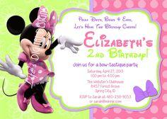 Minnie Mouse Birthday Invitation Wording Best Of Minnie Mouse Bowtique Invitatio. Minnie Mouse Birthday Invitation Wording Best Of Minnie Mouse Bowtique Invitations Birthday by Minnie Mouse Baby Shower, Minnie Mouse Party, Mouse Parties, Birthday Party Invitation Wording, Minnie Mouse Birthday Invitations, Invites, Minnie Birthday, Invitation Ideas, Invitation Templates