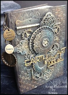 Scrap-Unlimited: Mixed media notebook