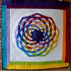 Quilting Land: Dancing Ribbons Quilt