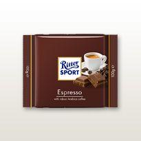 Ritter Sport Chocolates - Sooo good! Coffee Spoon, Coffee Mugs, Best Chocolate, Chocolate Bars, Arabica Coffee Beans, Ritter Sport, Chocolate Squares, Mocha, Espresso