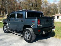 Used Hummer Trucks, Vans or SUVs