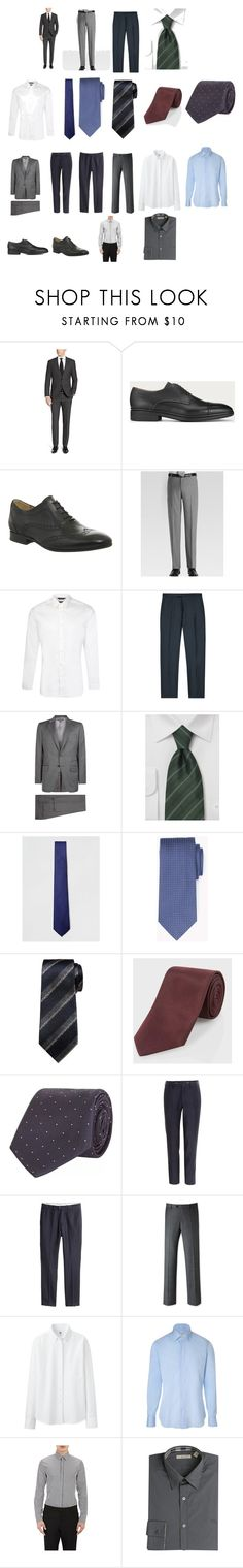 """Q First Male"" by kellydbailey on Polyvore featuring Bally, H by Hudson, Joseph Abboud, Paul Smith, Tom Ford, Topman, Banana Republic, Kenzo, Uniqlo and Dolce&Gabbana"