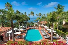 La Valencia Hotel Pool | La Jolla, CA