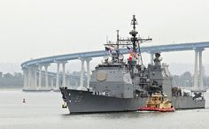USS Mobile Bay returns to homeport.