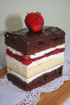 Ciasto truskawkowo-serowe Desserts To Make, Cookie Desserts, Cookie Recipes, Dessert Recipes, Types Of Cakes, Polish Recipes, Mini Cakes, Cake Cookies, Chocolates