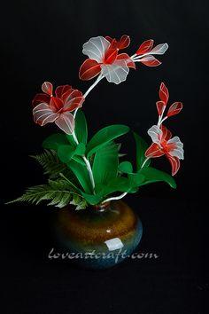 Nylon Stocking Flowers | Isabella Art ShopIsabella Art Shop
