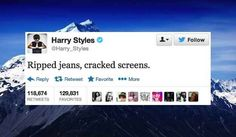 The 24 Deepest Harry Styles Tweets Of 2013