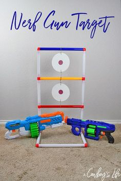 How do I create a DIY nerf target? Fun indoor activity for kids! How do I create a DIY nerf target? Fun indoor activity for kids! Indoor Birthday, Nerf Birthday Party, Nerf Party, Carnival Games For Kids, Diy Carnival, Kids Party Games, Toddler Games, Shooting Games For Kids, Nerf Gun Games