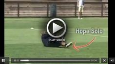 Hope Solo 1v1 Defense [VIDEO] - U.S. National Goalkeeper Hope Solo practices 1v1 Defense with coaching by Phil Wheddon