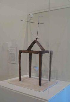 Giacometti's 'L'heure des traces' in the Tate Modern London. Surrealist dreams