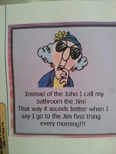 Just a little joke from ©maxine cartoons :)
