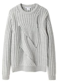 CARVEN Twisted Chunky Knit // $625NZD // Available Now at FABRIC