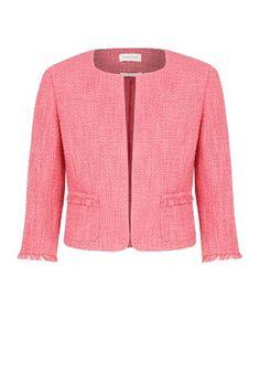 Fringe Textured Jacket