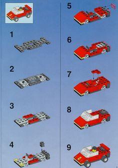 City - Gas Station [Lego 1256]