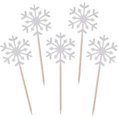 TOODOO 60 Pack Snowflake Cupcake Toppers Glitter Snowflake Cake Topper Picks for Christmas Birthday Party Baby Shower Wedding Cake Decoration (Silver) Snowflake Party, Snowflake Cake, Snowflake Wedding, Snowflakes, Baby Shower Cake Decorations, Wedding Cake Decorations, Wedding Desserts, Silver Christmas Decorations, Snowflake Decorations