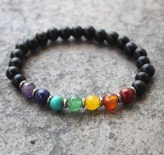 Onyx Chakra Mala Bracelet – Positive Vibez