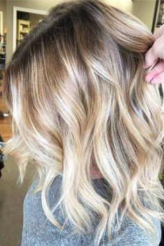 Medium Hairstyles with Balayage Picture 1