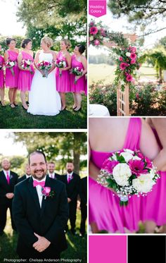 Hot Pink Wedding Pal