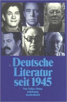 Deutsche Literatur seit 1945 / herausgegeben Dietrich Weber - 2. Uberarb und erweit Aufl - Stuttgart : Alfred Kröner, 1970