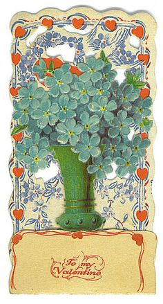 To My Valentine (shamrock tree) by Tommer G, via Flickr