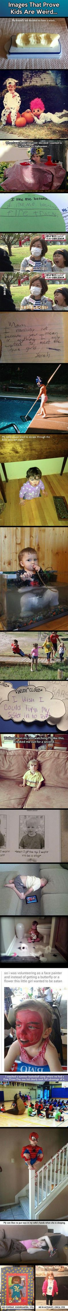 20 Funny Pictures That Show Why Geeky Kids Can Be Weird - TechEBlog