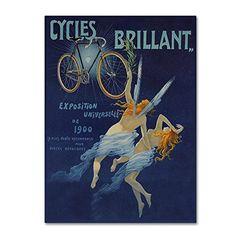 Trademark Fine Art Vintage Lavoie 'Ad Wheels 13' Canvas Art