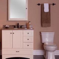 Vanity Cabinet Only In Vanilla MBD3621COM V   The Home Depot. Meuble Salle  De BainMobilier ...