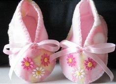 Sweet Baby Shoes DIY