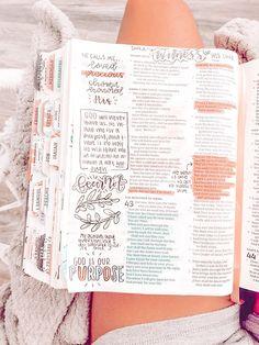 Bible Study Notebook, Bible Study Journal, Scripture Study, Bible Art, Bibel Journal, Bible Doodling, Bible Notes, Bible Encouragement, Study Notes