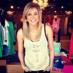 Anchor's Away tank- $38   Available at SteamRoller Blues