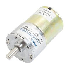 DC 24V 300RPM Output Speed Cylinder Shaped Oven Geared Motor