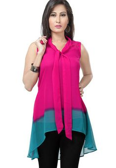Raindrops Peach Tunics - Buy Women Tunics Online | RA490WA20RZJINDFAS