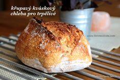 Křupavý kváskový chleba pro trpělivé a mlsné pekaře, nebudete litovat Bread And Pastries, Pavlova, Bread Baking, Baked Potato, Ham, Banana Bread, Bakery, Rolls, Food And Drink