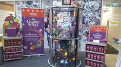 Grab A Grand Cash Grabber for Quality Street Launch and Tesco