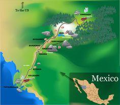 Viajes Barrancas del Cobre - El tren