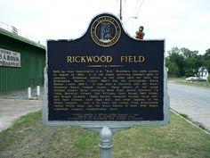 Rickwood Field Marker. Birmingham industrialist ...