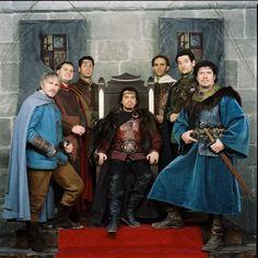 la série Kaamelott. Les chevaliers de la table ronde.