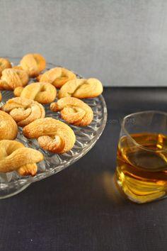 Torcettini di Saint Vincent (Sugar Crusted Twisted Cookies)