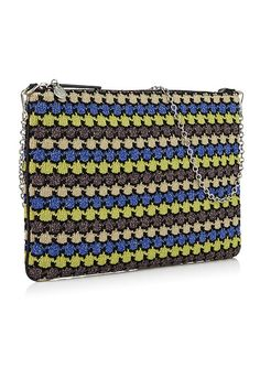 This boho Mexicana clutch from M Missoni is the perfect addition to your holiday wardrobe #veryexclusive