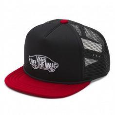 VANS Trucker Classic Patch black rubharb casquettes à filet 25,00 € #skate #skateboard #skateboarding #streetshop #skateshop @playskateshop