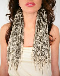 Feather Earrings Fabulous Neck Pain Trendy Outfits Feathers Fun Stuff