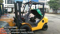 [ FOR SALE ] FORKLIFT KOMATSU 2.5 Ton, FD25-16, Manual, Lifting Height 3 M, Diesel Engine 4D94LE, 📞 087776518465.