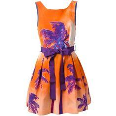 P.A.R.O.S.H. 'Palmille' dress