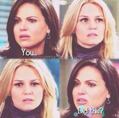 Just like your mother...heartbreaking - Regina and Emma - Once Upon a Time