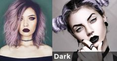 Dark | What makeup suits your personality?