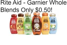 Rite Aid - Garnier Whole Blends Only $0.50! - http://dealmama.com/2017/04/rite-aid-garnier-whole-blends-0-50/