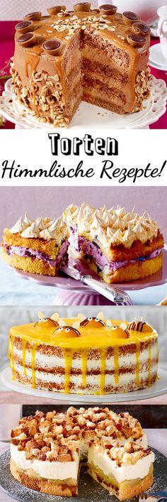 Hier findest du für jeden Anlass die passende #Torte! Schokoladig oder fruchtig, was darf's sein? #Geburtstag