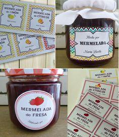etiquetas para tus mermeladas caseras