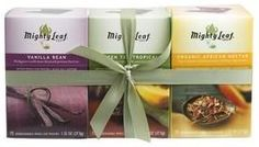 Mighty Leaf Tea Giveaway ends 1/14/15