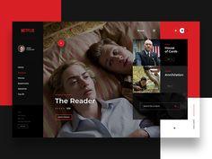 Netflix - Website Concept